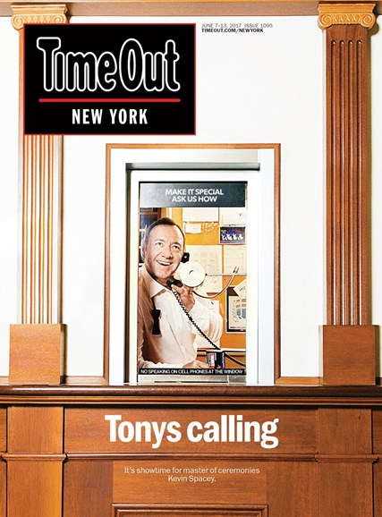 Time Out New York Cover - 6/7/2017