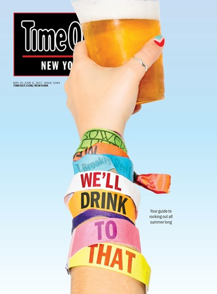 Time Out New York Cover - 5/31/2017