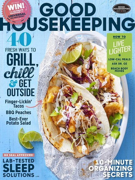 Good Housekeeping Cover - 8/1/2017