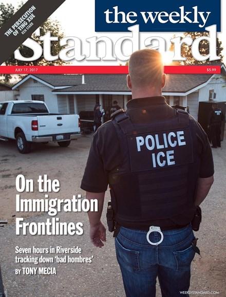 Washington Examiner Cover - 7/17/2017