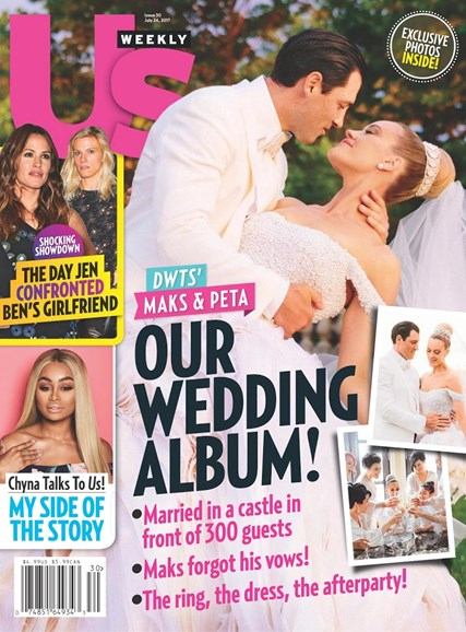 Us Weekly Cover - 7/24/2017