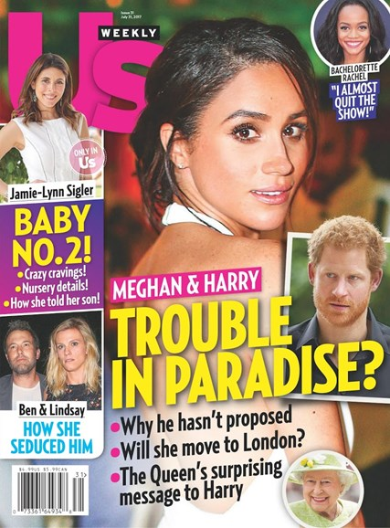 Us Weekly Cover - 7/31/2017