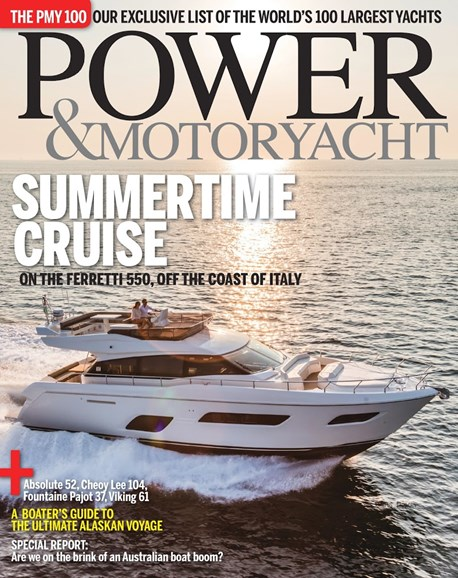 Power & Motoryacht Cover - 8/1/2016