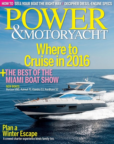 Power & Motoryacht Cover - 2/1/2016