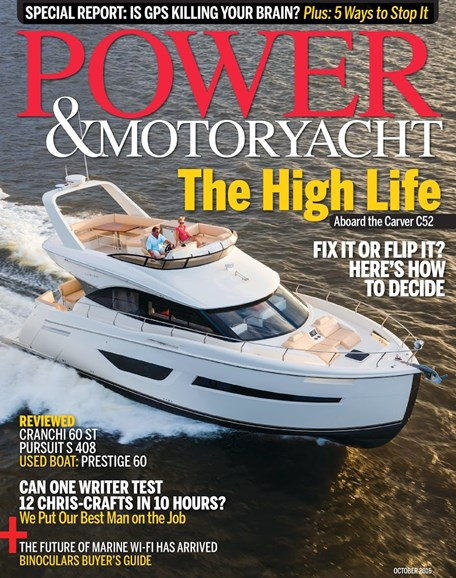 Power & Motoryacht Cover - 10/1/2016