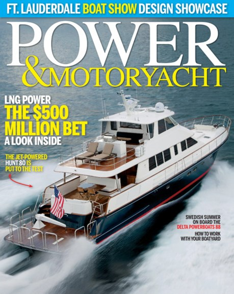 Power & Motoryacht Cover - 11/1/2015
