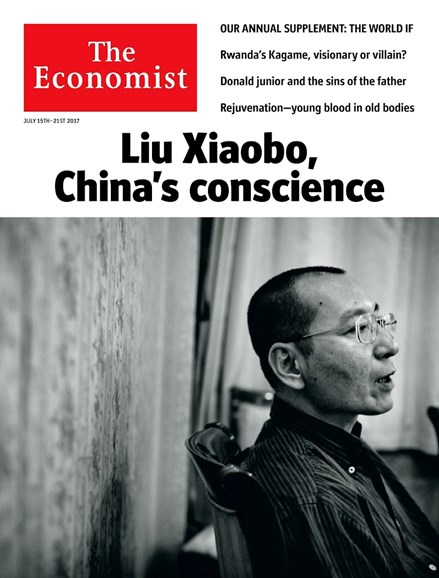 The Economist Cover - 7/15/2017