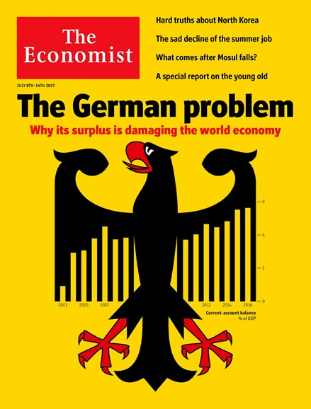 The Economist Cover - 7/8/2017