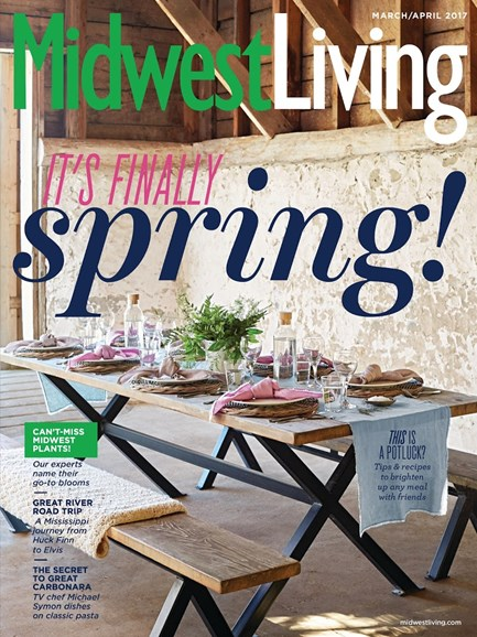 Midwest Living Cover - 3/1/2017
