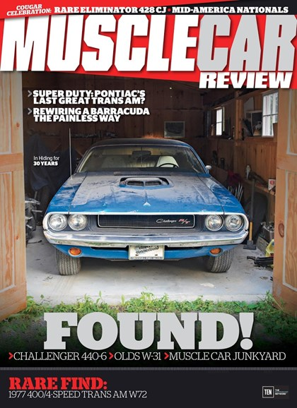 Muscle Car Review Cover - 8/1/2017
