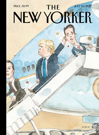The New Yorker Cover - 7/24/2017