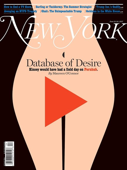 New York Magazine Cover - 6/12/2017