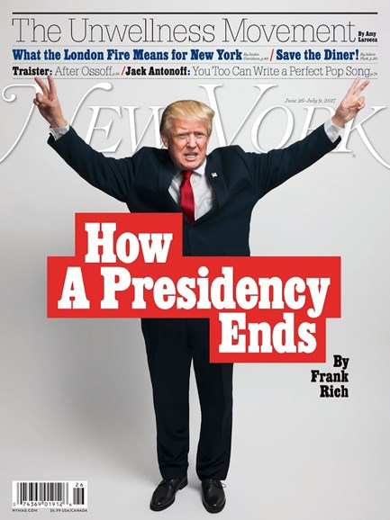 New York Magazine Cover - 6/26/2017