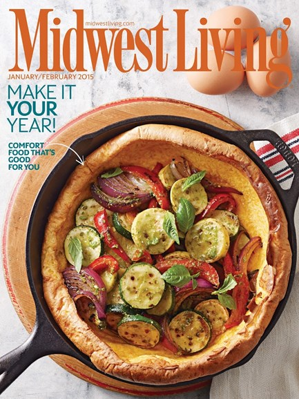 Midwest Living Cover - 1/1/2015