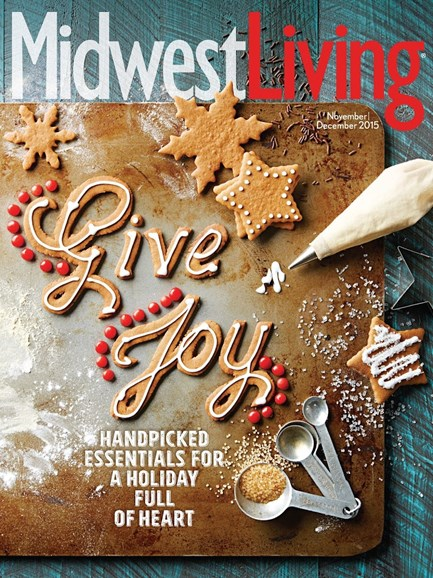 Midwest Living Cover - 11/1/2015