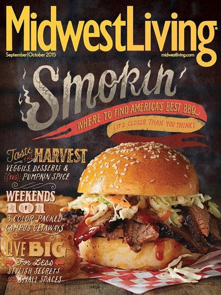 Midwest Living Cover - 9/1/2015