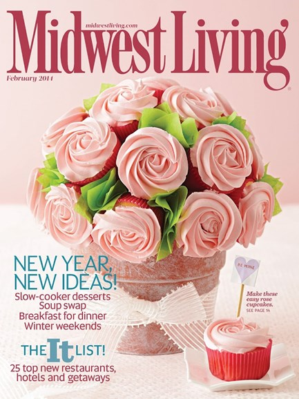 Midwest Living Cover - 1/1/2014