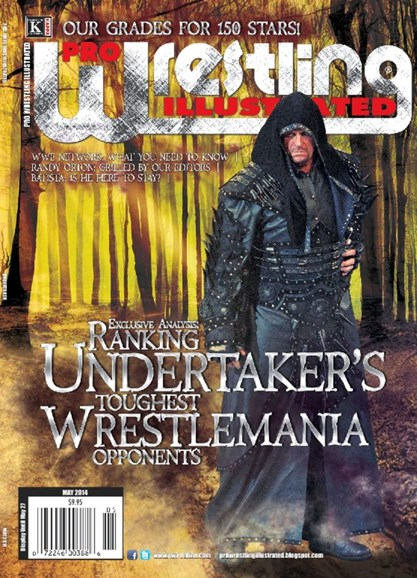 Pro Wrestling Illustrated Cover - 5/1/2014