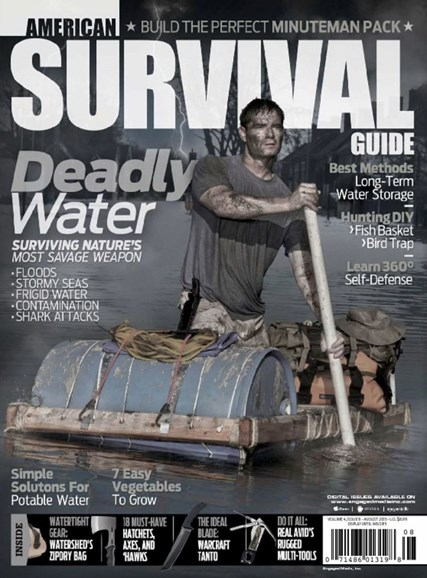 American Survival Guide Cover - 8/1/2015