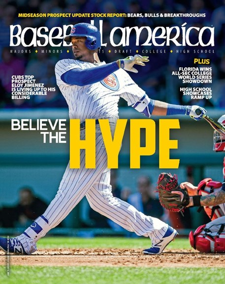 Baseball America Cover - 7/21/2017
