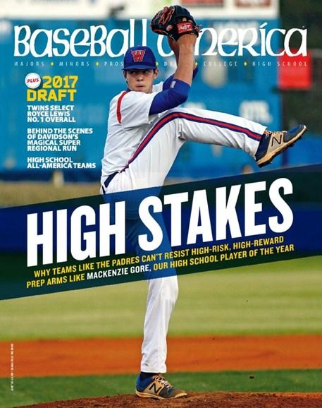 Baseball America Cover - 7/7/2017