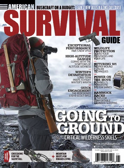 American Survival Guide Cover - 1/1/2016