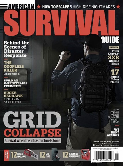 American Survival Guide Cover - 11/1/2015