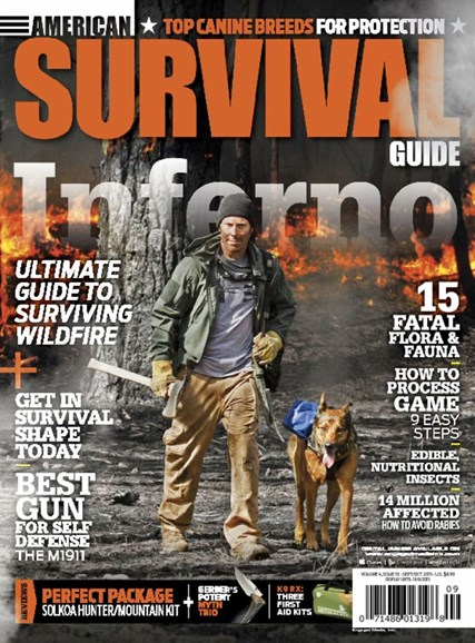 American Survival Guide Cover - 9/1/2015