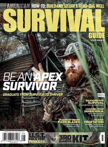 American Survival Guide Cover - 8/1/2017