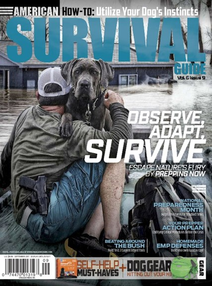 American Survival Guide Cover - 9/1/2017
