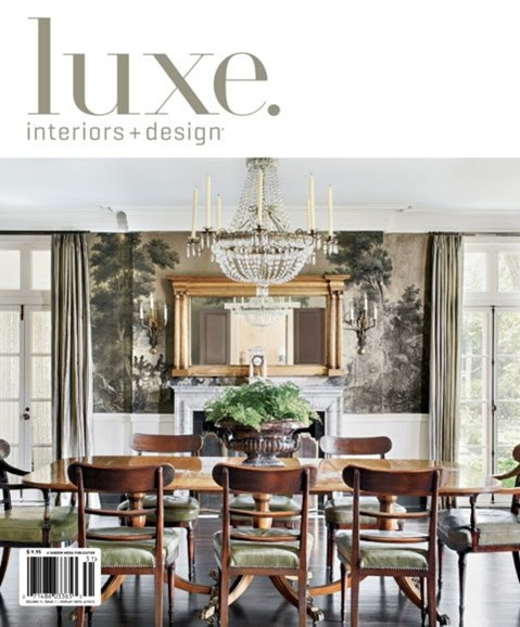 Luxe Interiors & Design Cover - 12/1/2012