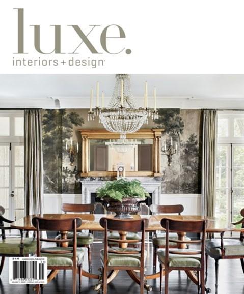 Luxe Interiors & Design Cover - 12/1/2012