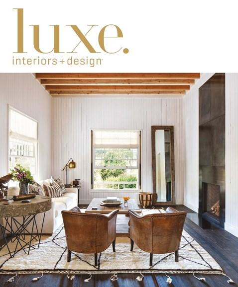Luxe Interiors & Design Cover - 7/1/2016