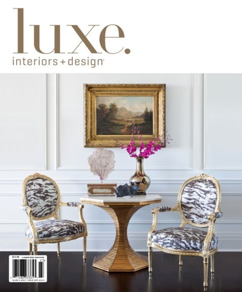Luxe Interiors & Design Cover - 6/1/2012