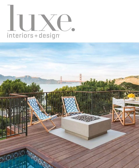 Luxe Interiors & Design Cover - 7/1/2014