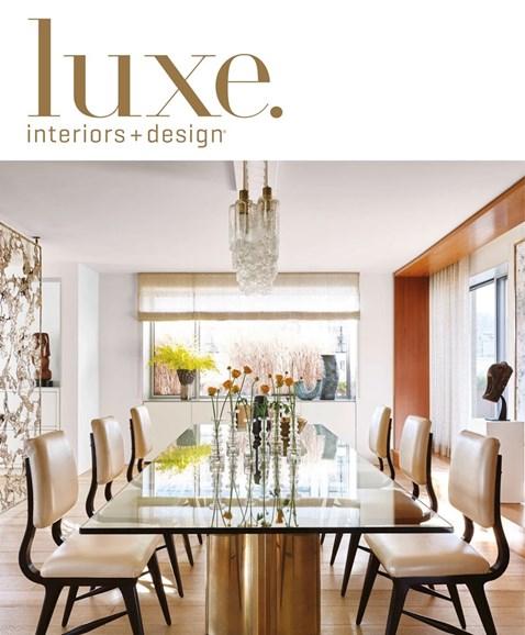 Luxe Interiors & Design Cover - 3/1/2017
