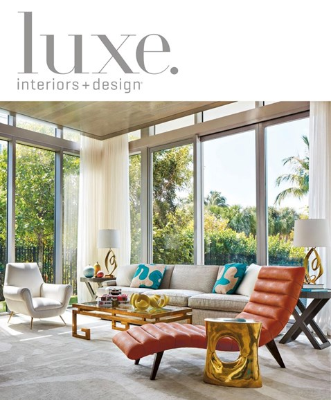 Luxe Interiors & Design Cover - 5/1/2017