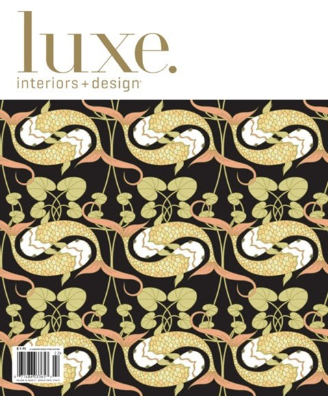 Luxe Interiors & Design Cover - 3/1/2012