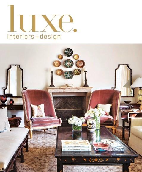 Luxe Interiors & Design Cover - 5/1/2016