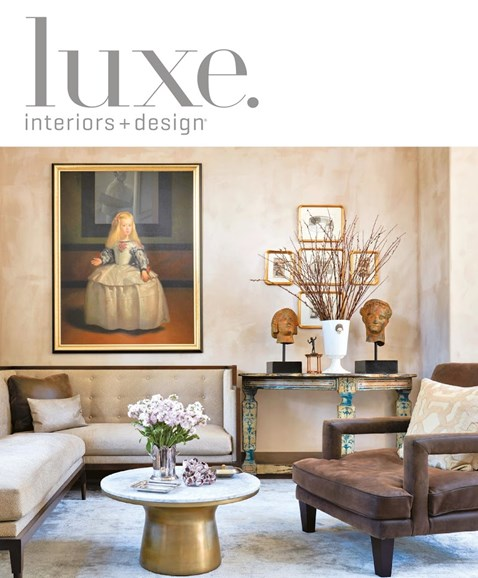 Luxe Interiors & Design Cover - 11/1/2016