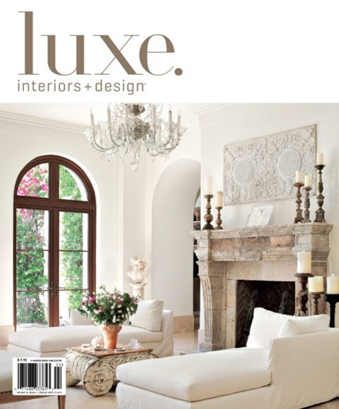 Luxe Interiors & Design Cover - 9/1/2012