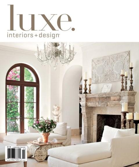 Luxe Interiors & Design Cover - 9/1/2012