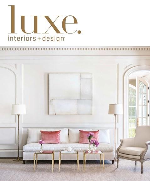 Luxe Interiors & Design Cover - 9/1/2016