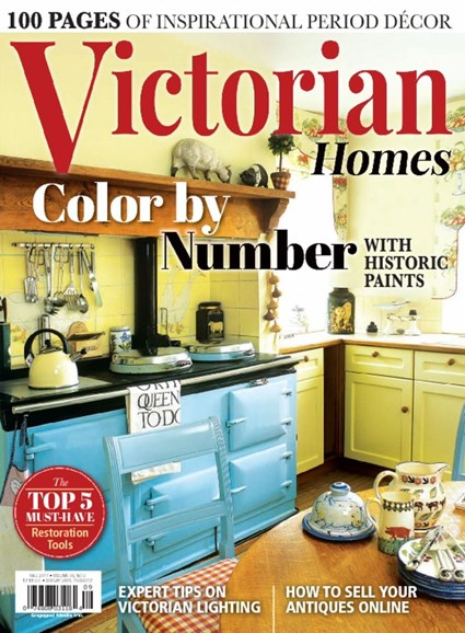 Victorian Homes Cover - 9/1/2017