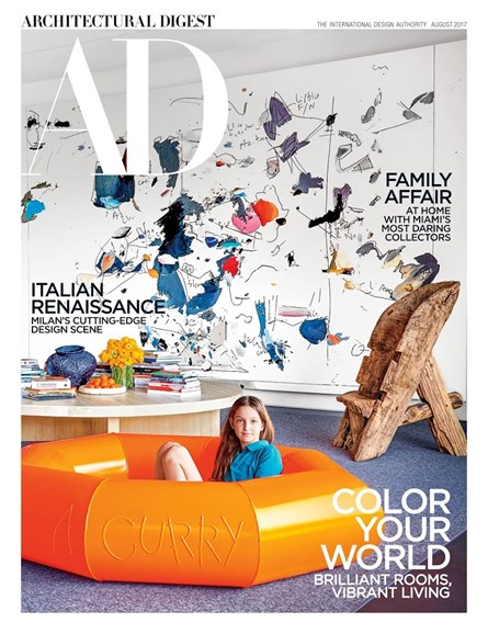 Architectural Digest Cover - 8/1/2017