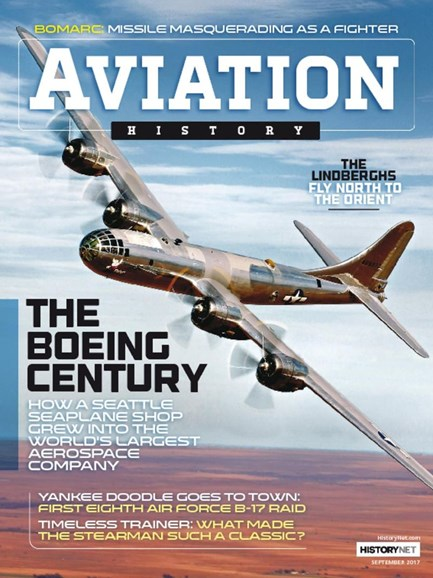 Aviation History Cover - 9/1/2017