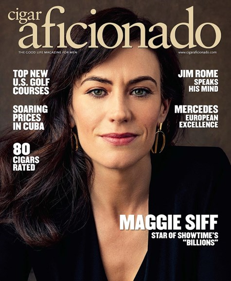Cigar Aficionado Cover - 7/1/2017