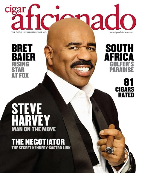 Cigar Aficionado Cover - 3/1/2017