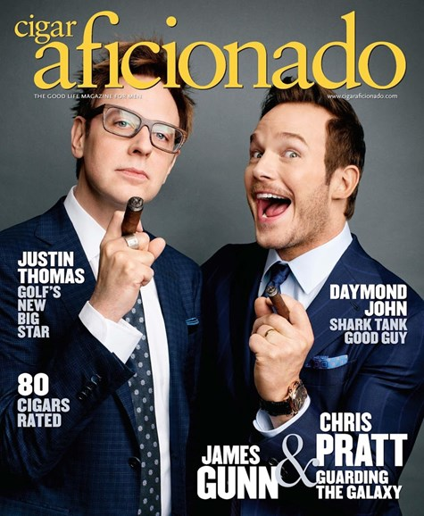 Cigar Aficionado Cover - 5/1/2017