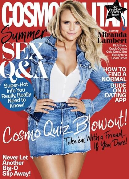 Cosmopolitan Cover - 8/1/2017